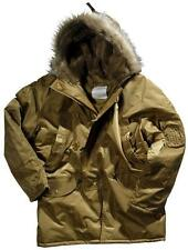 Blouson Parka US N3B Flight coyote or grand froid taille L 42