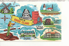 This Is Rhode Island  The Ocean State   Chrome  Postcard 2147