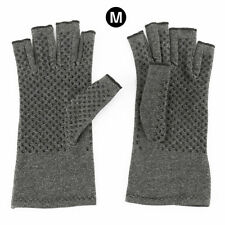 2x Anti Arthritis Gloves Half-hand Support Pain Relief Fingers Compression 01 M-a Pair