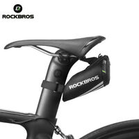 ROCKBROS Mini Tail Bag Cycling Portable Saddle Rear Pocket Fit Road&MTB Bike