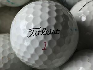 100 Titleist ProV1 X AA Used Golf Balls Pro V1 X