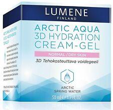 Lumene Arctic Aqua 3D Hydration Cream Gel for Normal / Dry Skin 50 ml / 1.7Fl.Oz