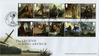 2021 GB LEGEND OF KING ARTHUR FDC TINTAGEL *NICE* FIRST DAY COVER 16.3.21
