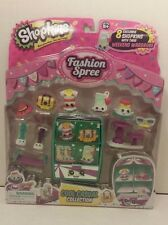 Shopkins Season 3  new Fashion Spree Pack - cool casual Collection set