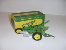 1/16 Vintage John Deere 2-Bottom Plow (1949) by Carter W/Box!