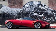 "2012 Pagani Huayra supercar Canvas Matte Print 23"" x 33"""
