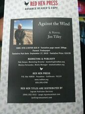 Against The Wind Jim Tilley Advance Reading Copy