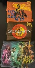 Serenity / Firefly Shirts: Set of 3 - Jason Palmer Art, Jayne Let's Be Bad Guys