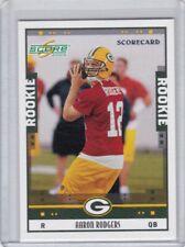 2005 Score Scorecard #352 Aaron Rodgers 375/599 RC Rookie
