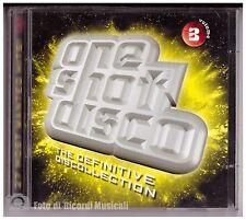 ONE SHOT DISCO VOLUME 3 CD DOPPIO **NUOVO**