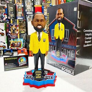 """CHARLES WOODSON Green Bay Packers 2021 """"Hall of Fame"""" Inductee NFL Bobblehead"""