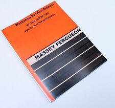 MASSEY FERGUSON 1655 1855 GARDEN LAWN MOWER TRACTOR SERVICE MANUAL REPAIR SHOP
