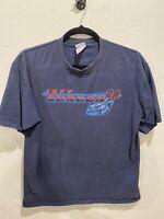 Jeff Gordon #24 Dupont Nascar Busch Series Black Racing T-Shirt Size XL