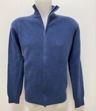 Maglione con zip Maglierie di Perugia maglia lana cashmere Made in Italy