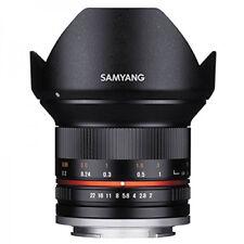Obiettivi asferici a focus manuale Samyang per fotografia e video