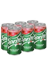 LIMITED ❄️ EDITION WINTER SPICED CRANBERRY SODA SIX PACK of 12 FL OZ Cans