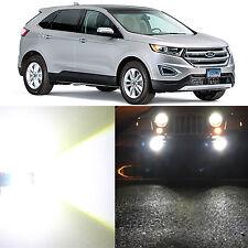 Alla Lighting Fog Light H11LL 6000K Super White SMD LED Bulb for 07~10 Ford Edge