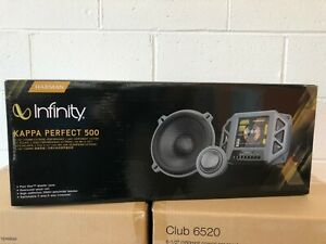 "Authorized Dealer Infinity Kappa Perfect 500  5-1/4"" Component Speaker System"