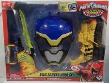 Power Rangers Dino Charge Blue Ranger Hero Training Set Mask Morpher Saber MISB