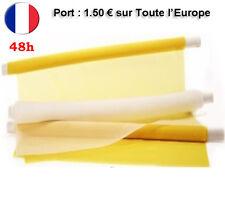 Toile Maille Tissus Tamis Soie Polyester Pour Sérigraphie de 15 à 165T