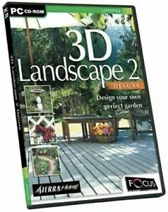 3D Landscape 2 Deluxe PC CD ROM Software ❗️😍🛍 Spikes Store