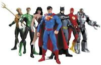 7Pcs/Set DC Comic Justice League Superman Wonder Woman Batman Action Figure Toy