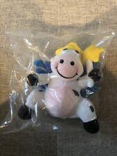 KRAFT Singles Dairy Fairy Cow Bean Bag Plush *New In Package
