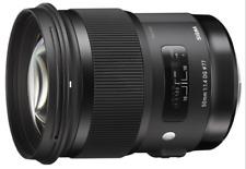 Sigma 50mm F1.4 DG HSM A Art Series Lens: CANON CA2638