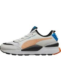 Puma Mens RS-0 Rein White/Black Trainers RRP 80£