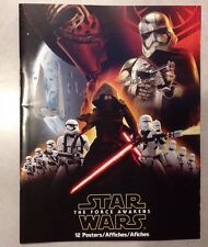 Star Wars 2015 The Force Awakens 12 Poster Book New Disney Movie