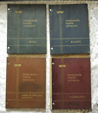 FOUR Frigidaire Parts Catalogs  Dryers Washers Dishwashers Air Conditioners 1950