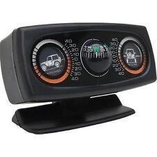 Smittybilt 791006 Clinometer II Articulating Gauge w/ Compass Black