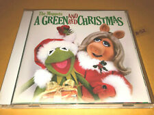 THE MUPPETS xmas GREEN AND RED CHRISTMAS cd KERMIT miss piggy GONZO chef DISNEY