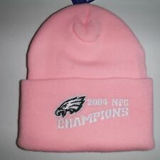 Philadelphia Eagles  NFL Authentic  2004 NFC Champions Beanie Toque Knit Hat NWT