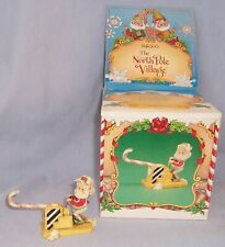 New ListingVtg 1987 Enesco The North Pole Village Elf Figurine Puffy 876763 Zimnicki w/ Box