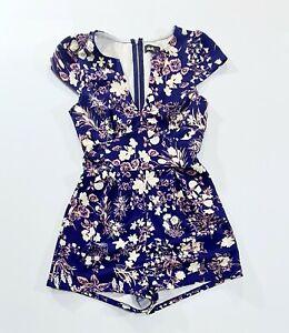 DOTTI Womens Floral Summer Jump Suit Size 6