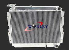 53 ROW Aluminum Radiator for TOYOTA LANDCRUISER 60 Series HJ60 HJ61 HJ62 Manual