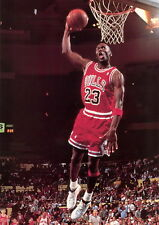 "49 Michael Jordan Slam Dunk NBA 24""x34"" Poster"
