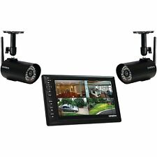 "Uniden UDS655 Wireless Surveillance System 7"" MONITOR, 2 CAMERAS Included"