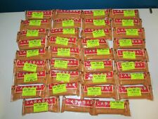 LARABAR Peanut Butter Chocolate Chip HUGE Lot 36 Protein Energy Bar Organic READ