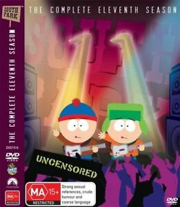 South Park : Season 11 (DVD, 2008, 3-Disc Set)