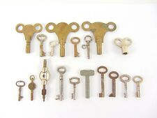 Joblot 18 Vintage Keys - Watch - Clock - padlock - etc - Penguin - Restoration