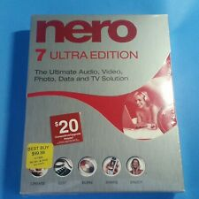 Nero 7 - Ultra Edition PC Software - A/V - Photo - Data - TV - ~^*Sealed NIB*^~