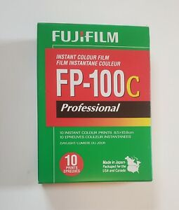 One (1) Fuji FP100c film. Expired 09-2018. Cold stored since purchase