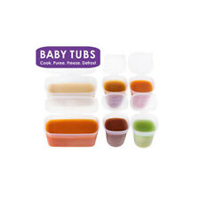 Baby Tubs Mixed Pack = 2 x 175ml + 4 x 70ml BPA free tubs- Homemade Baby Food!