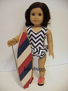 """Surf Board for American Girl 18"""" Doll Accessory WIDEST VARIETY FOUND LOVVBUGG 🐞"""
