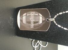 CUSTOMIZED TWO SIDE DOGTAG WITH PERSONALIZED TEXT IN  MIDDLE OF PHOTOand MESSAGE