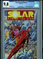 Solar Man of the Atom 3 CGC 9.8 NM/MT 1991 Valiant Comics  Amricons K24