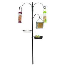 Kingfisher Tradizionale Stazione di alimentazione BIRD da Giardino in Metallo Nero Volatili Selvatici cura U