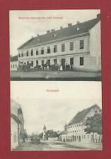 """AK  """" ZURANY -Gemeinde Gasthaus des Josef Karbasch - Hauptgasse """"- 1913 - UNGARN"""